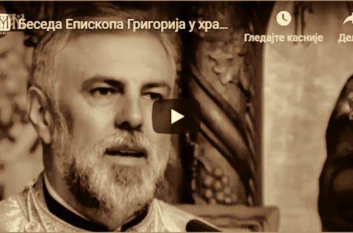 Беседа Епископа Григорија у Карлсруеу