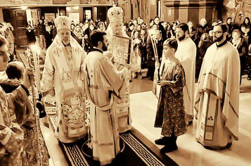 Sveta liturgija u Diseldorfu