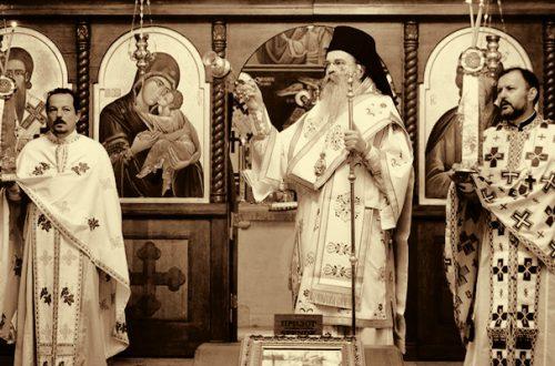 Посета Епископа Теодосија и ученика Призренске богословије Црквеној општини Берлин