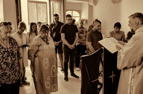 Arhijerejska Liturgija u Korčuli