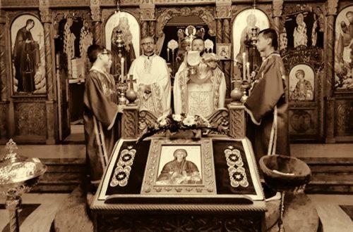 Света Литургија и призив Светог Духа у парохији карлсруешкој поводом почетка нове школске године