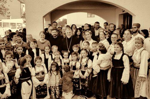Uz pesmu, igru i bogatu trpezu proslavljena hramovna slava u Augsburgu