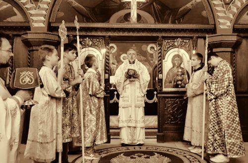 Sveta Arh. Liturgija u Diseldorfu