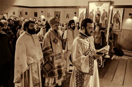 Sveta arhijerejska Liturgija u Skitu Svetoga Spiridona u Gajlnau