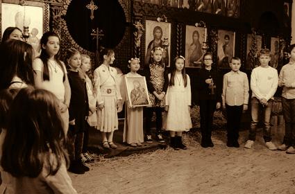 Божићна приредба у штутгартском храму