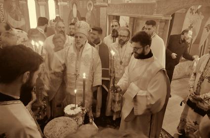 Episkop Grigorije služio u Petropavlovom manastiru u Trebinju