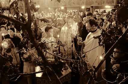 Badnji dan i Božić u Diseldorfu