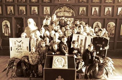Poklon dva najveća srpska kluba parohijskoj zajednici u Kelnu