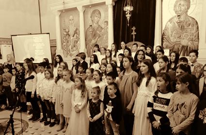 Proslava Svetoga Save u hramu Vaskrsenja Hristovog – Frankfurt