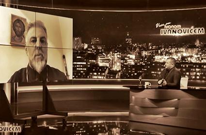 """Vladika Grigorije gostovao u emisiji """"Veče sa Ivanom Ivanovićem"""""""