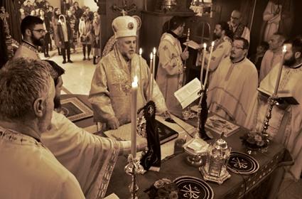 Sveta arhijerejska Liturgija u Hamburgu – nedelja Pačista