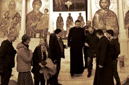 Састанак Радне групе за интеркултурални дијалог у просторијама франкфуртског храма