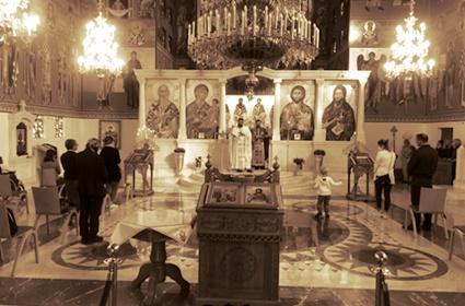 Празник Усековања главе Св. Јована Крститеља прослављен у Франкфурту