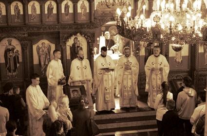 Priziv Svetoga Duha na početku školske godine i predstavljanje novih sveštenika u Minhenu