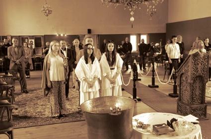 Liturgijsko krštenje u Vupertalu
