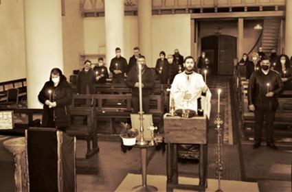 U Dortmundu služen pomen za pokoj Mitropolita Amfilohija