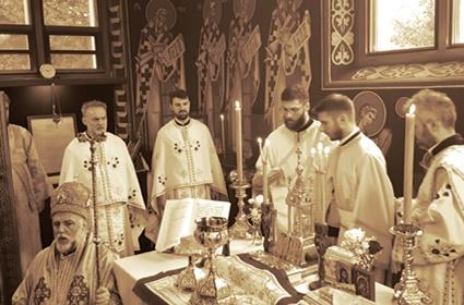 Proslava praznika Pokrova Presvete Bogorodice i rukopoloženje u Minhenu