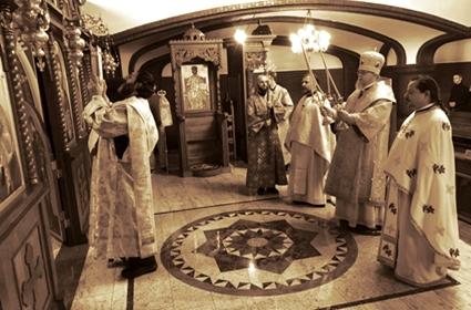 Arhiepiskop podolski G. Tihon održao pomen Blaženopočivšem Patrijarhu srpskom Irineju