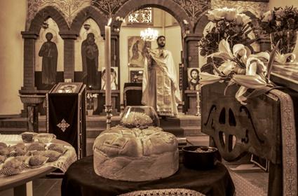 Slava hrama Svetog apostola Luke u Dortmundu
