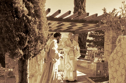Arhijerejska liturgija u Petropavlovom manastiru