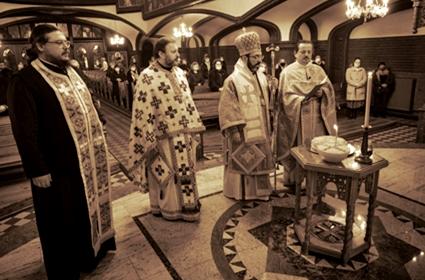 Slava hrama Svetog Save u Berlinu