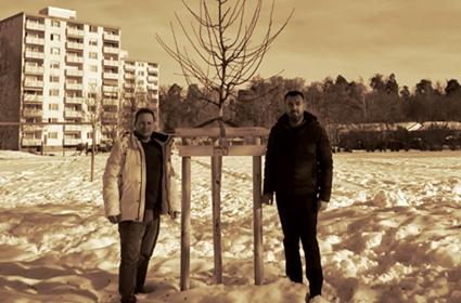 Učestvovanje CO Fridrihshafen u akciji pošumljavanja grada
