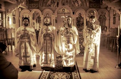 Liturgijsko sabranje u Traunrojtu i besjeda đakona Dejana Ristića
