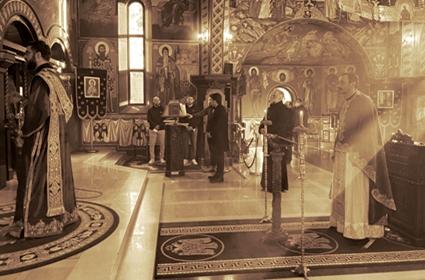 Liturgija pređeosvećenih darova 19.03.2021 – Diseldorf
