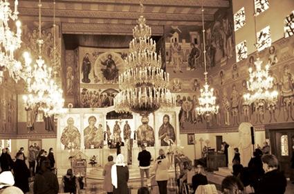 Nedelja mesopusna – Poseta visokih zvaničnika grada Frankfurta hramu Vaskrsenja Hristovog