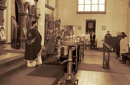 Liturgija pređeosvećenih darova u Dortmundu