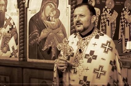 Beseda i obraćanje sveštenika Veljka Gačića – Cveti – Berlin