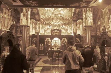 Крстопоклона недеља у парохији шварцвалдској