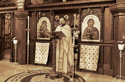 Beseda sveštenika Nebojše Rakića – Blagovesti – Diseldorf