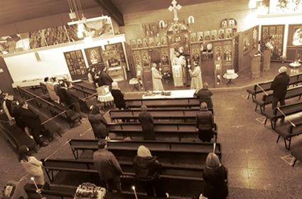 Dešavanja u Crkvenoj opštini Bremen u dane Strasne sedmice i Vaskrsenja Hristovog