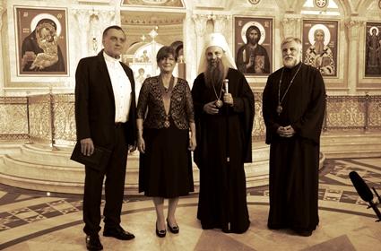 Patrijarh srpski Porfirije uručio orden Svetog Save prof. dr Nadeždi Basari