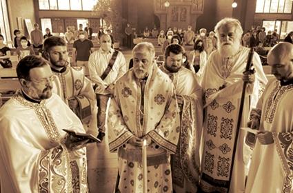 Slava parohije u Bonu