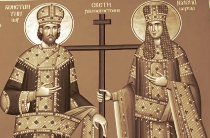 Sveštenik Simon Turkić – Molitveno razmišljanje pred praznik, Car Konstantin i žena Samarjanka – Frankfurt