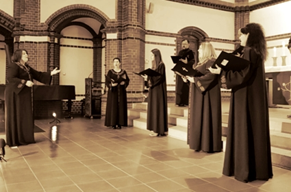 Horski koncert Internacionalnog konventa hrišćanskih crkava u Berlinu