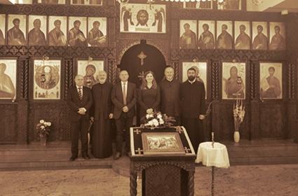 Ambasadorka Republike Srbije u SR Nemačkoj posetila hram Sabora Srba svetitelja u Štutgartu
