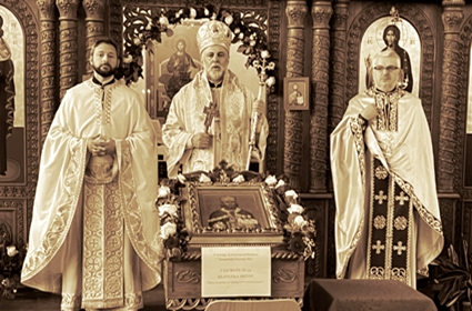 Svetom arhijerejskom Liturgijom proslavljena slava hrama u Augzburgu
