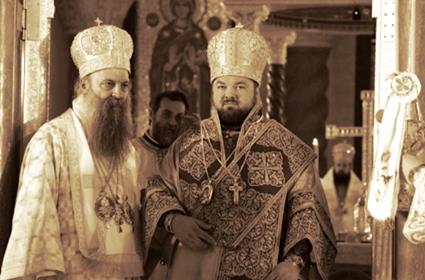 Hirotonija arhimandrita Jovana za Episkopa humskog